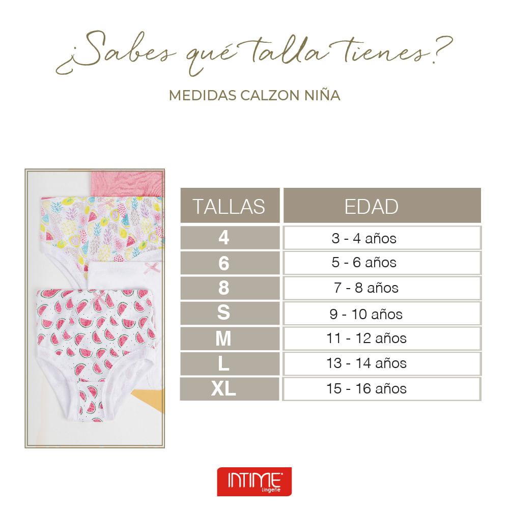 Calzon Niña