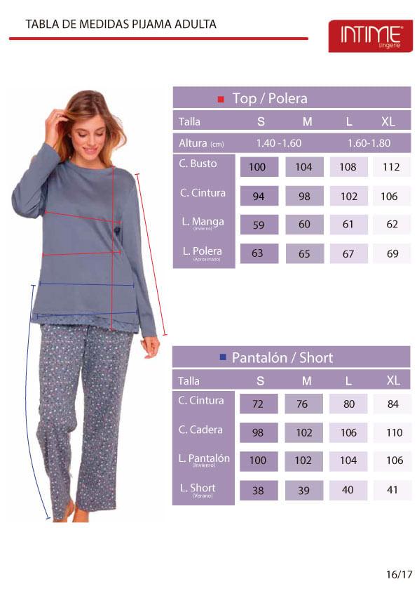 Pijamas Adulto Intime